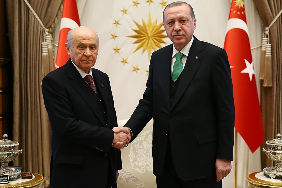 The AKP-MHP alliance plans may be shattered