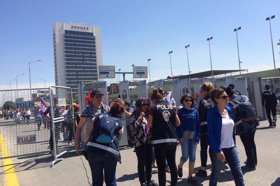 Ankara'da güvenlik önlemi