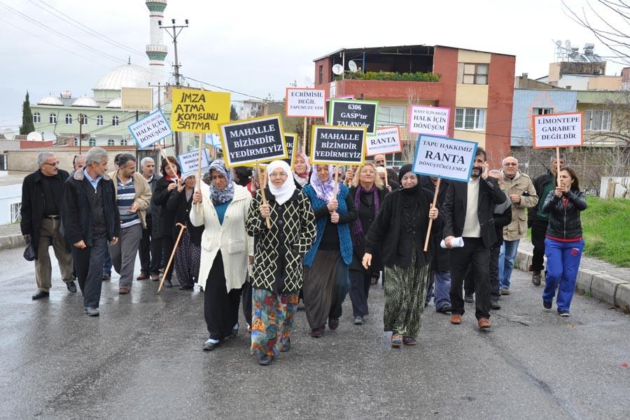 Karabağlarlılar: İmar düzenlemesi sermaye için