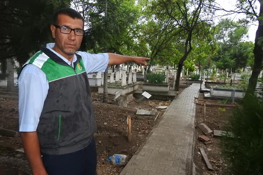 Çorum'daki 'mezarlıkta ağlayan kız' bulundu