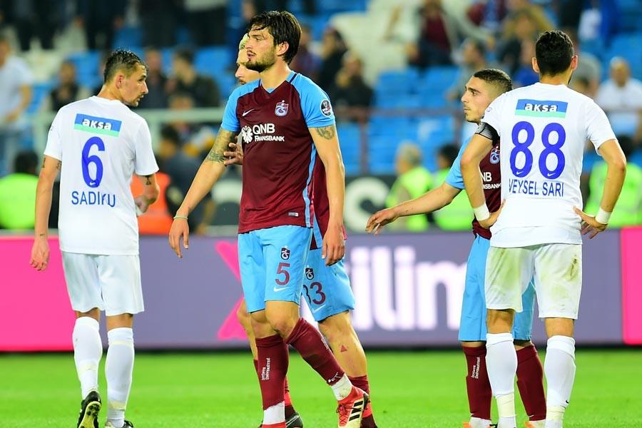 Trabzonspor'da Bursapor maçı öncesi 7 eksik