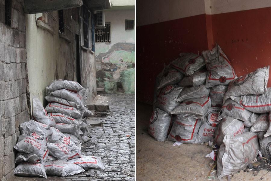 Sur'da mayıs ayında kömür dağıttılar