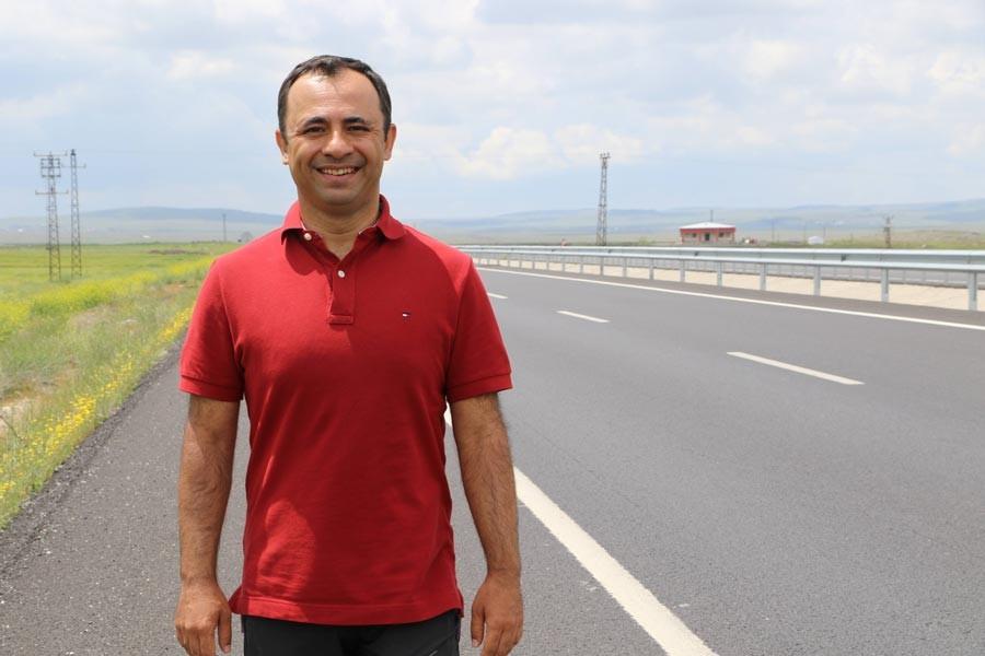 Diyarbakır'a yürüyen Tuna Bekleviç: En kapsayıcı parti HDP
