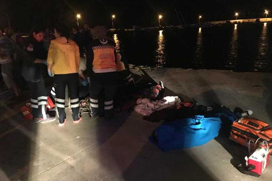 Çanakkale'de mülteci teknesi battı: 2'si çocuk 7 kişi yaşamını yitirdi