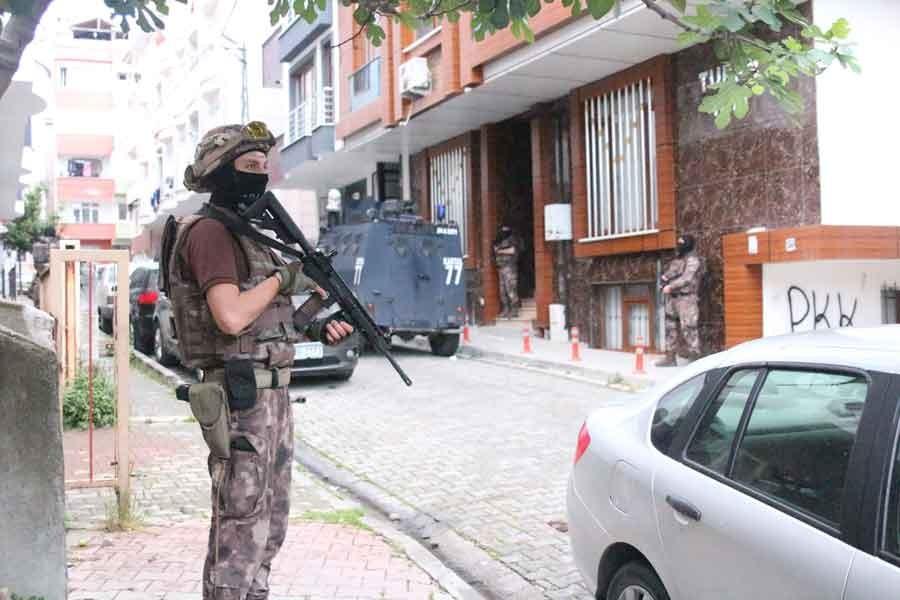 İstanbul'da IŞİD operasyonu : 38 gözaltı