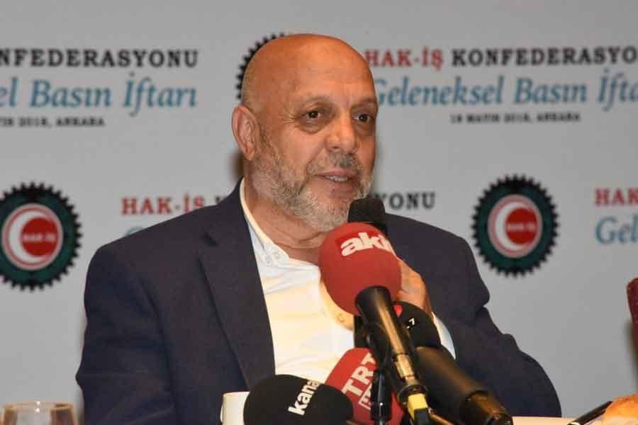 Hak-İş Genel Başkanı Mahmut Arslan'ın milyonlarca işçi için hayali asgari yaşam
