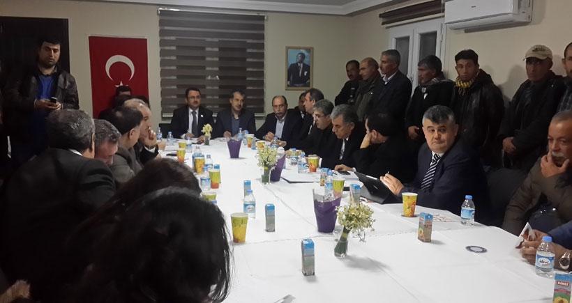 Meclis komisyonu, Adana'da tarım işçilerini dinledi