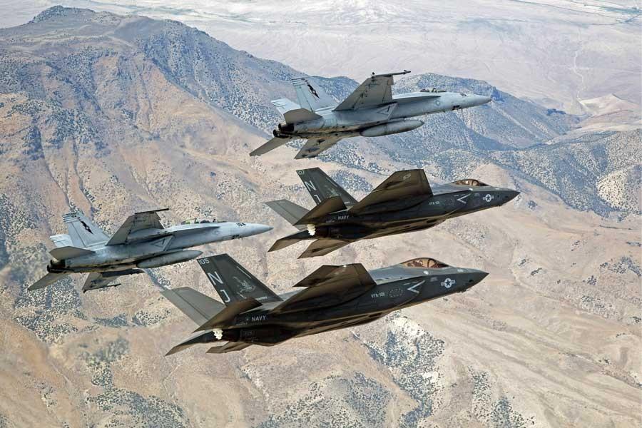 TRUMP'TAN F-35 İMZASI