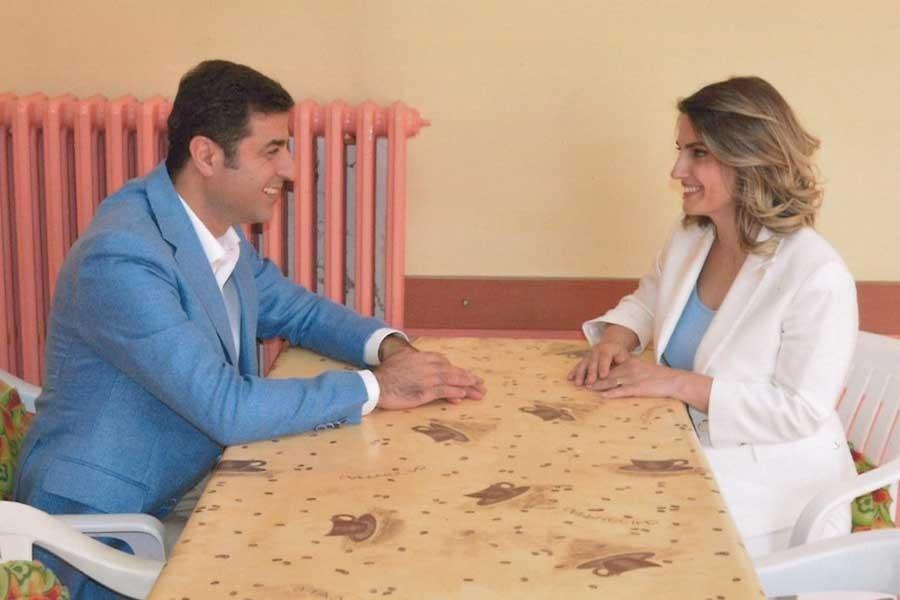 Selahattin Demirtaş'ın eşi Başak Demirtaş'a mektubu sakıncalı bulundu