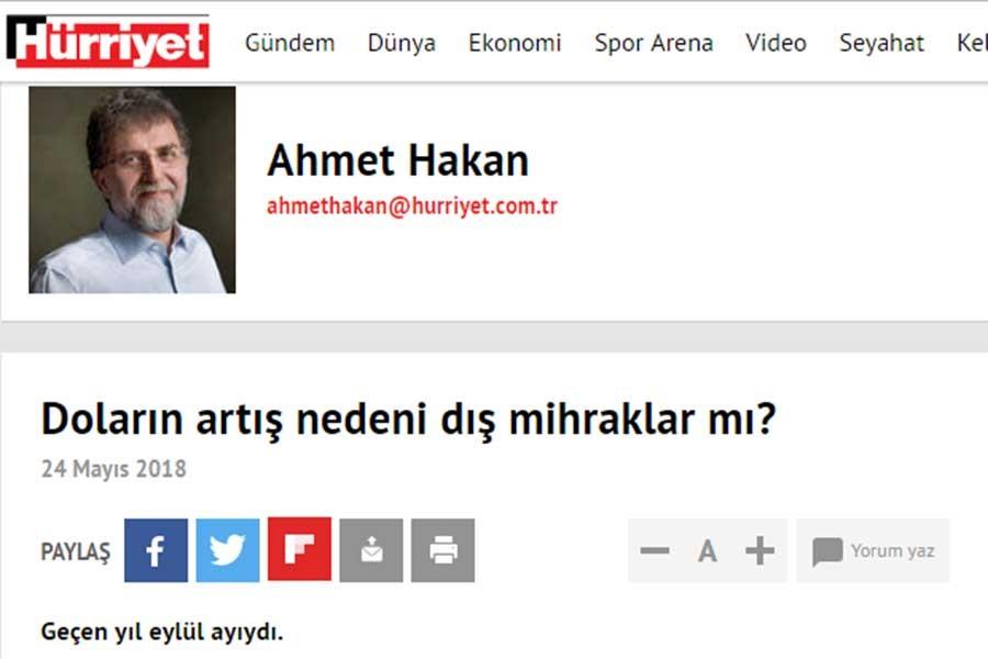 Ahmet Hakan: Polisler geldi, benim için ölüm tehditleri söz konusuymuş