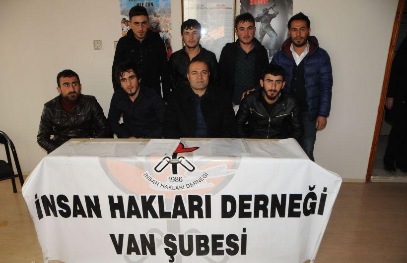 Saldırıya uğrayan işçiler İHD'ye başvurdu