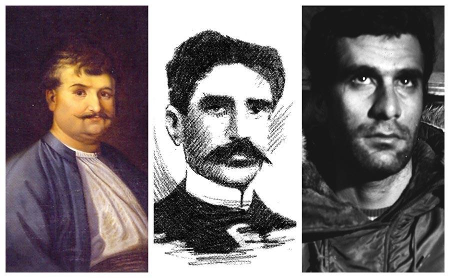 1798'den 1972'ye halkların üç devrimcisi: Regas, Paramaz ve Deniz