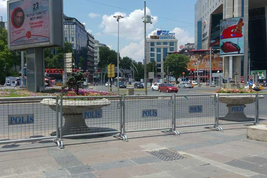 Ankara Valiliğinden patlama uyarısı