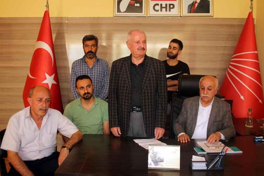 CHP Şırnak il ve merkez ilçe yönetimi istifa etti