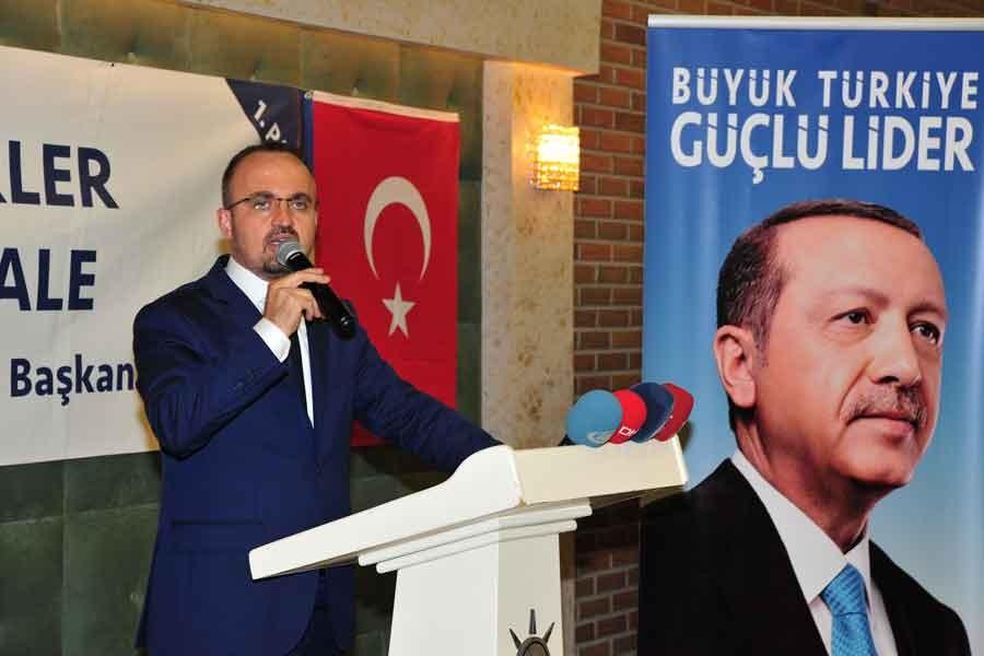 AKP'li Turan: Hedefimiz askerlik yasasını bu hafta geçirmek