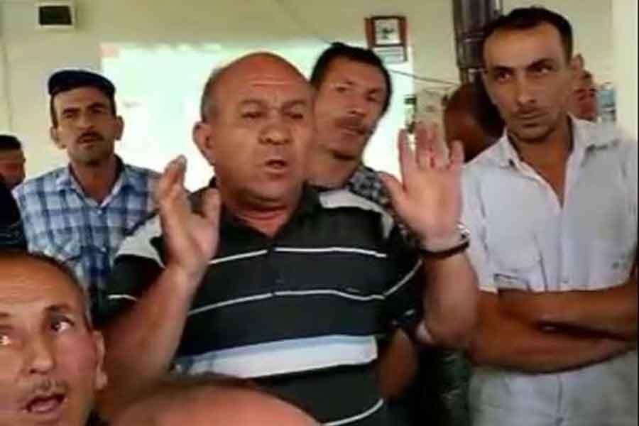 Burhaniye'de köylüler ÇED toplantısını yaptırmadı