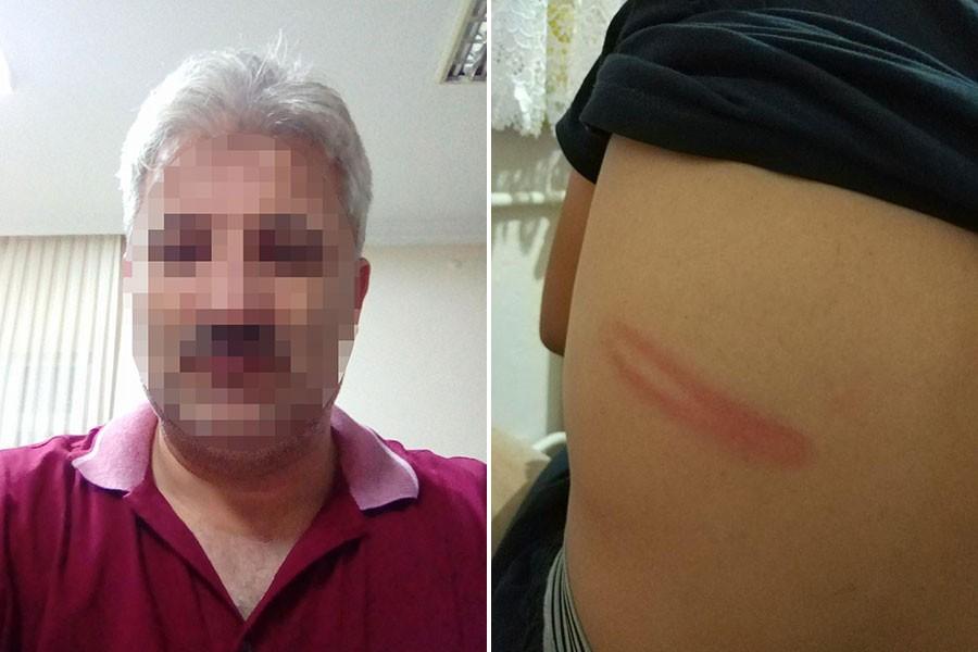 Kuran kursunda çocuğu boruyla döven imam açığa alındı