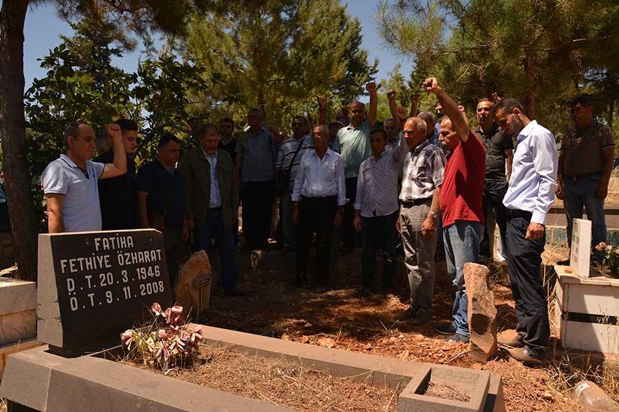 İHD Gaziantep Eski Şube Başkanı İmam Hüseyin Özharat yaşamını yitirdi