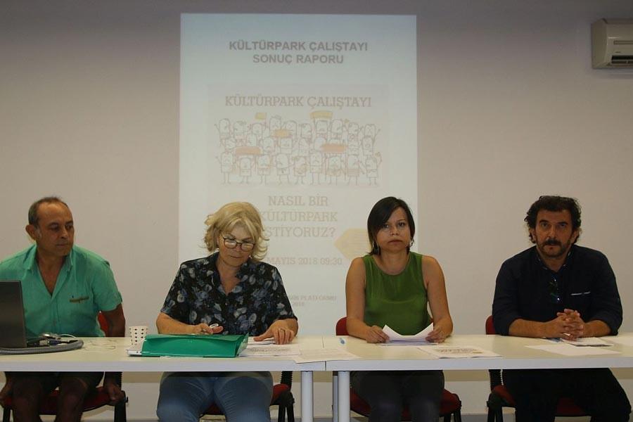 Kültürpark Platformu Çalıştay Raporunu açıkladı