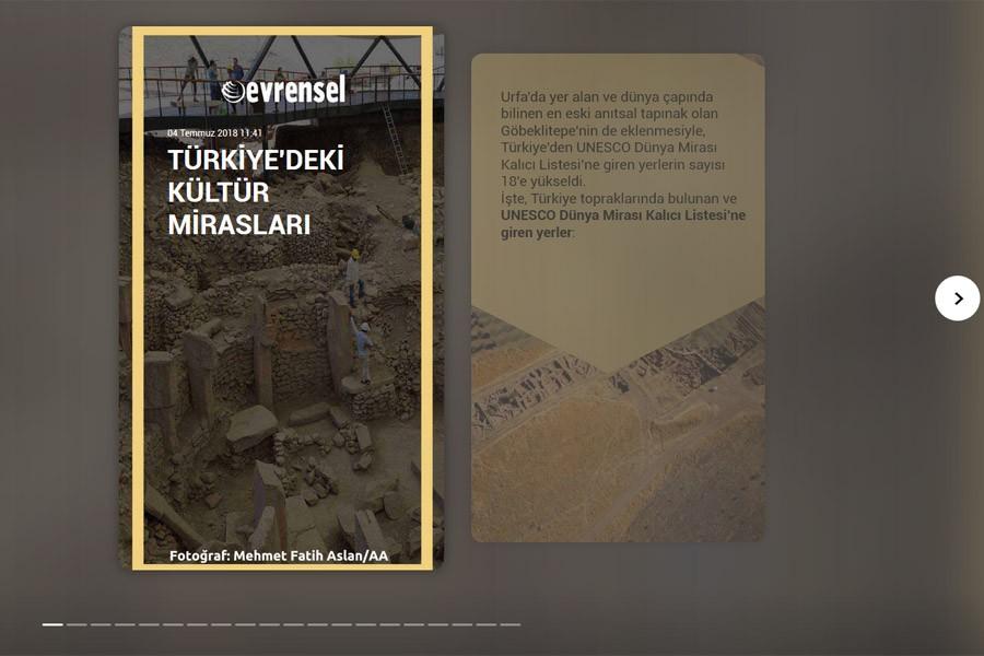 Türkiye'de yer alan Dünya Kültür Miras'ları