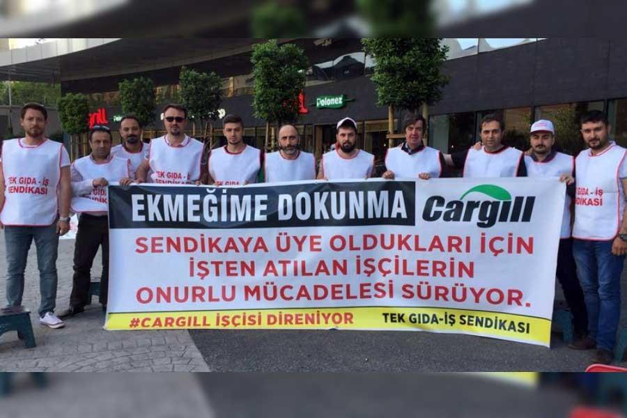 Cargill işçileri tekrar İstanbul'a geliyor