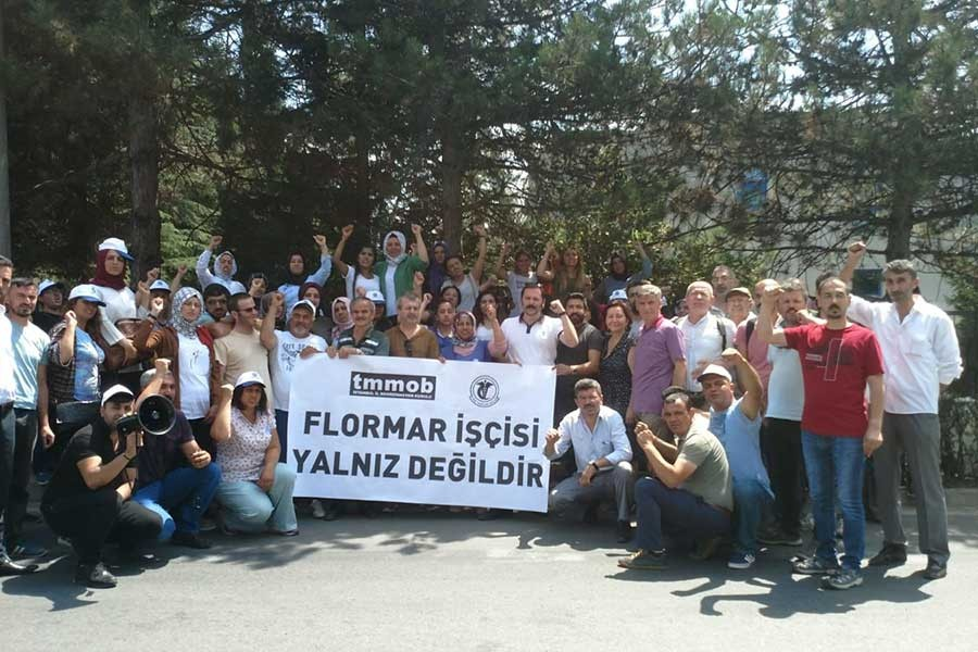 TMMOB ve TTB'den Flormar işçilerine destek: Direniş umut oldu