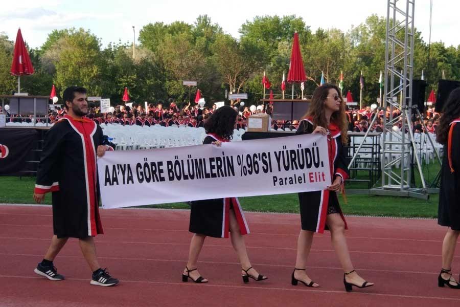 ODTÜ'de 'Erdoğan pankartı' sebebiyle 4 öğrenci tutuklandı