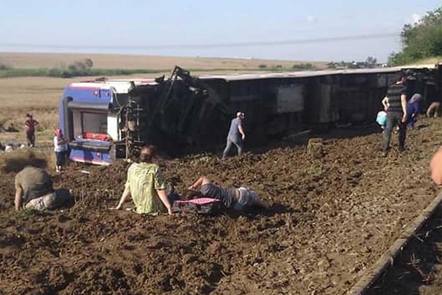 Türkiye'de 1945'ten bu yana gerçekleşen ölümlü tren kazaları