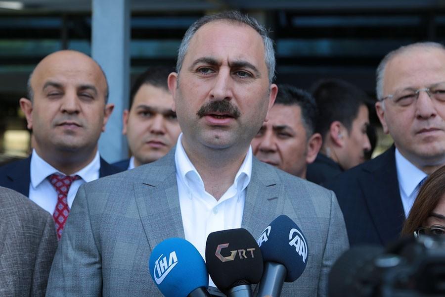 Adalet Bakanı Gül: Güven veren bir adalet tesis edeceğiz