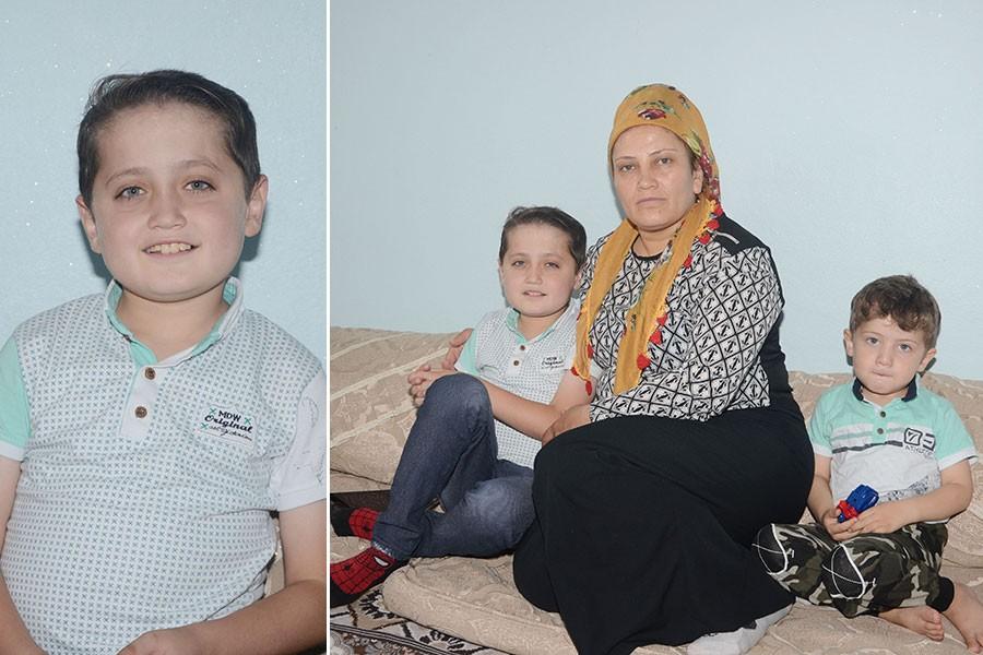 Ağabeyi kas hastalığından hayatını kaybeden Mert, ilik nakli bekliyor