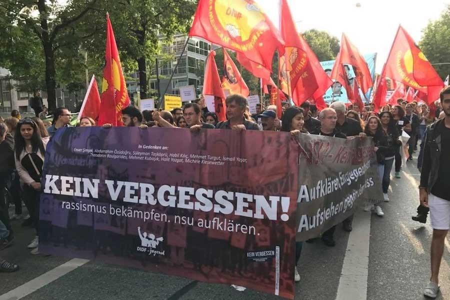 NSU protestosu