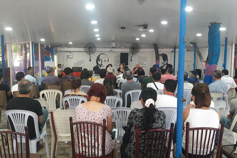 Samandağ'da panel: 'Yeni rejim işleyişi, şirket-devlet işleyişidir'