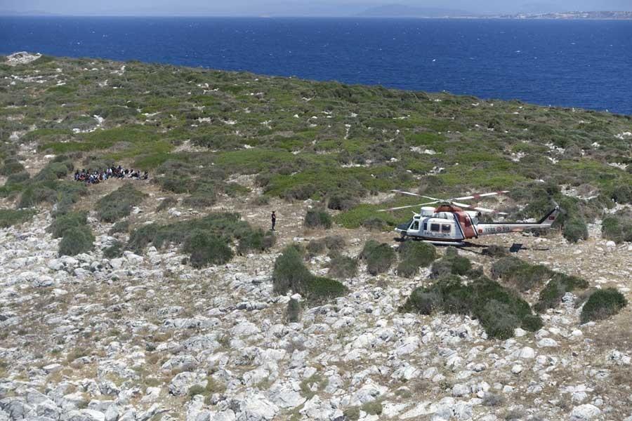 Boğaz Adası'nda mahsur kalan mültecilerin tamamı kurtarıldı