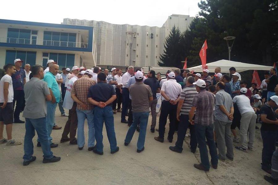 Barilla'da grev sürüyor: Hakkımızı alana kadar buradayız