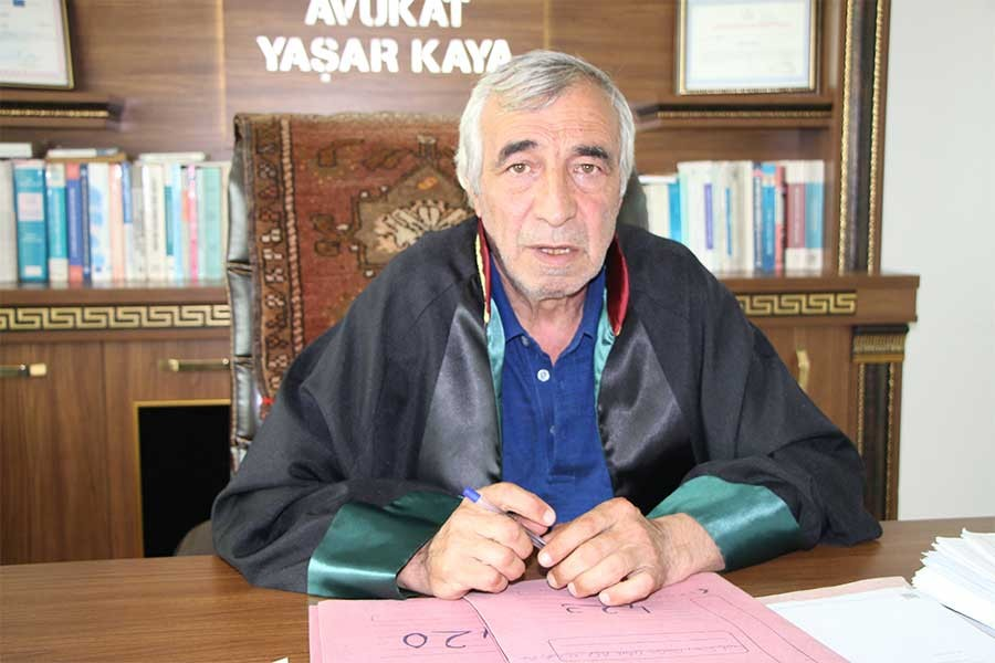 Avukat Yaşar Kaya: Hukukun kırıntısını arıyoruz