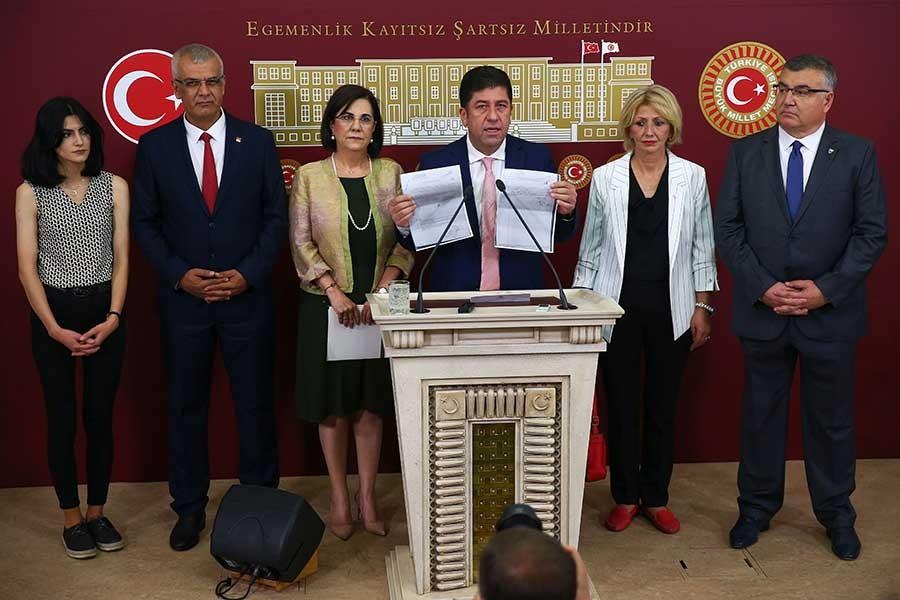 CHP'DE MARATON BAŞLADI