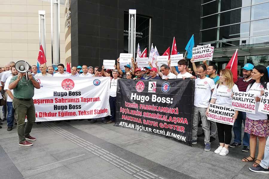 Hugo Boss, işçileri 'marka itibarına zarar' iddiasıyla işten attı