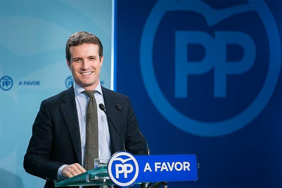 İspanya'da Halk Partisi'nin yeni lideri Pablo Casado oldu