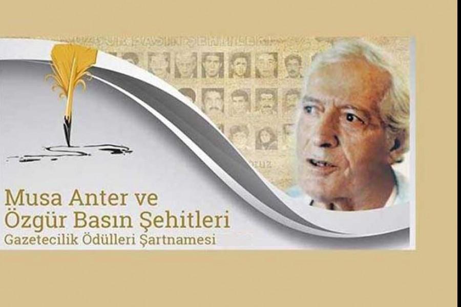 Musa Anter Ödülleri için başvurular başladı