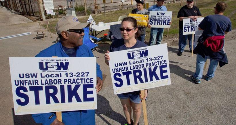 En büyük işçi grevi üçüncü haftasında