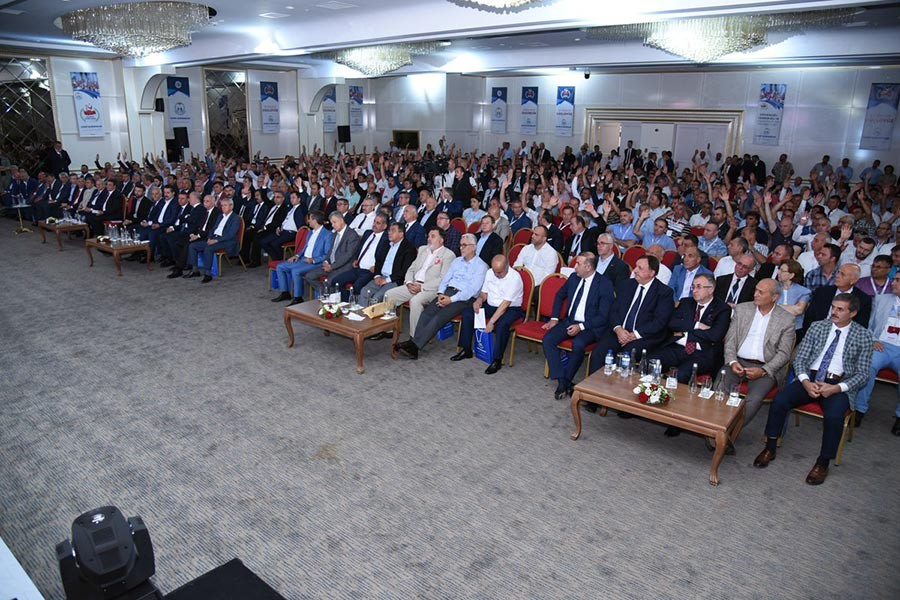 Koop-İş sendikasında Eyüp Alemdar yeniden başkan seçildi