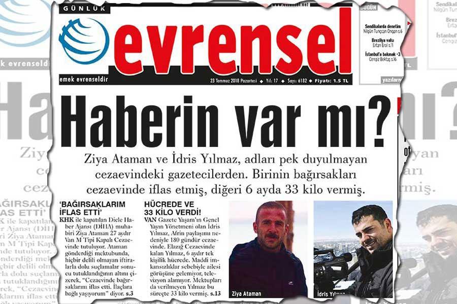 Tutuklu gazetecilere yönelik hak ihlalleri Meclis gündeminde