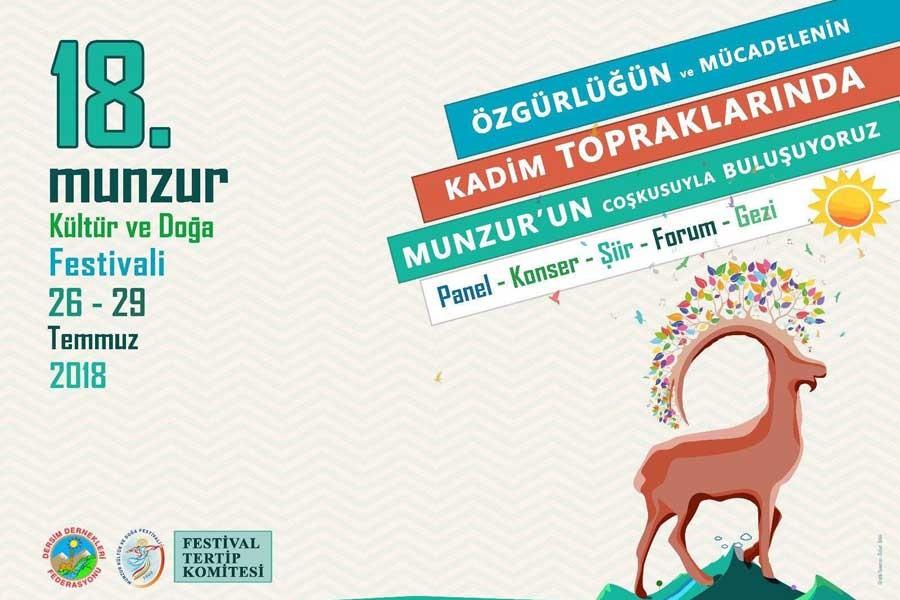 Munzur Festivali, 'örgüt propagandası' gerekçesiyle yasaklandı