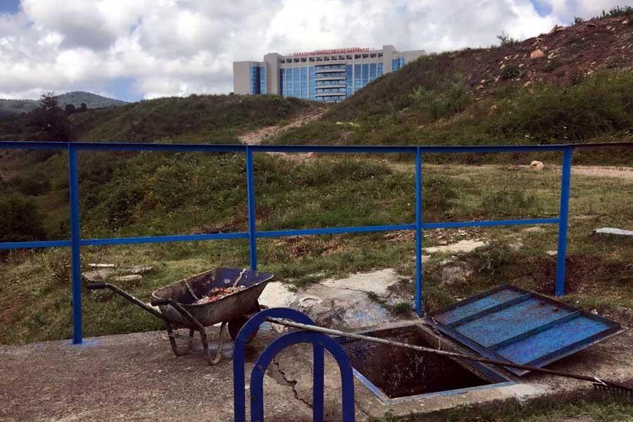 Ereğli Devlet Hastanesi kanalizasyonunda 2'nci cenin bulundu