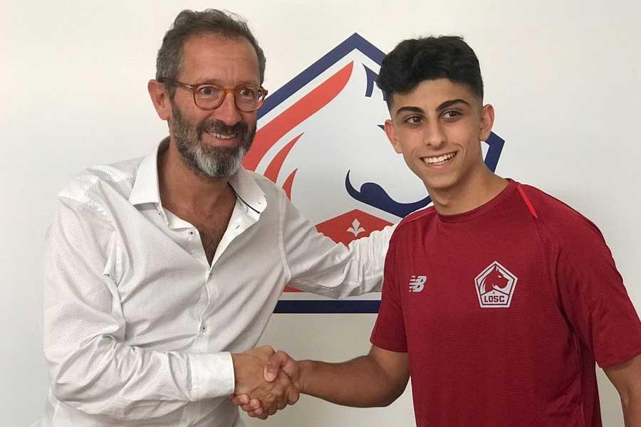 16 yaşındaki Ferhat Çoğalan Lille'e transfer oldu