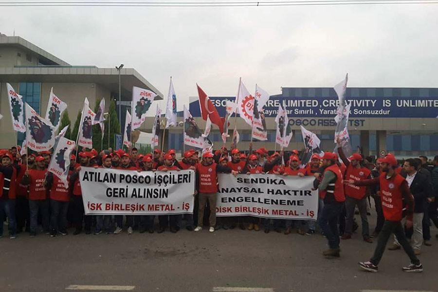 Posco Assan işçileri davayı kazandı