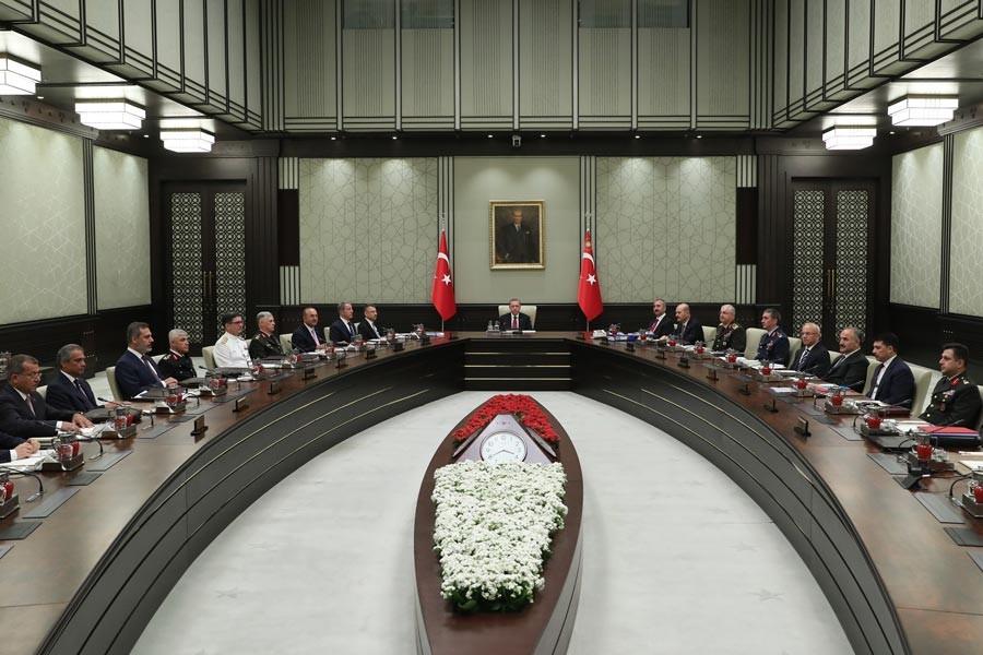 'Cumhurbaşkanlığı Hükümet Sistemi'nin ilk MGK'si sona erdi