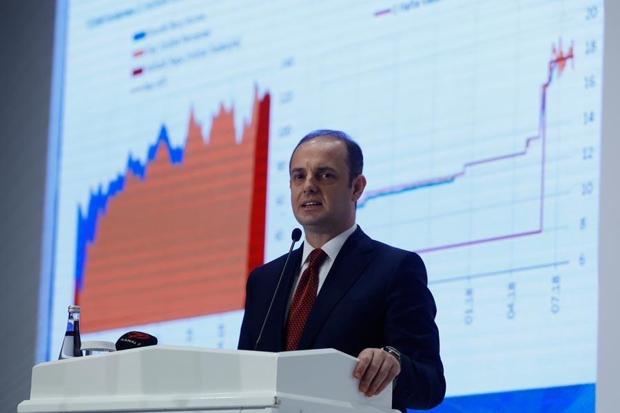 Merkez Bankası enflasyon tahminini 5 puan yukarı çekti