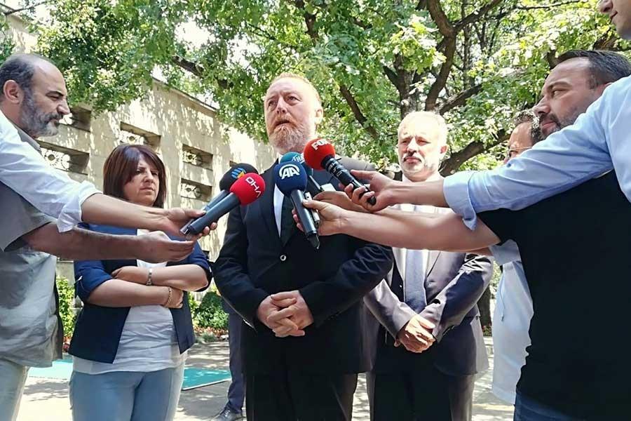 HDP heyeti Binali Yıldırım'ı ziyaret etti, tutuklu vekiller konuşuldu