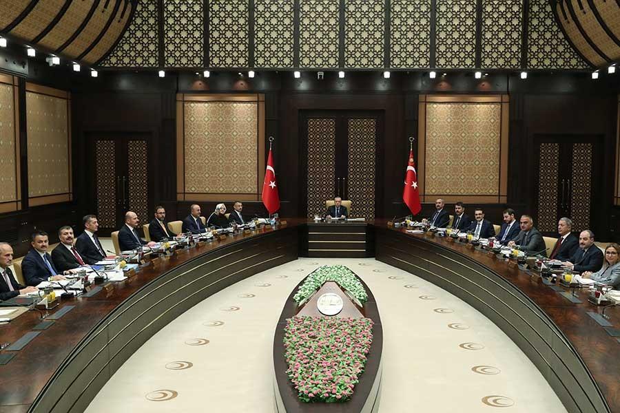 Cumhurbaşkanlığı Kabinesi ikinci kez toplandı